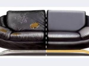 Перетяжка кожаного дивана в Ярославле