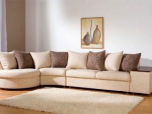 Перетяжка углового дивана на дому в Ярославле